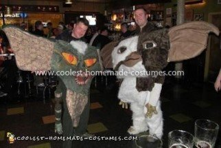 Homemade Gremlins Gizmo and Stripe Couple Costume