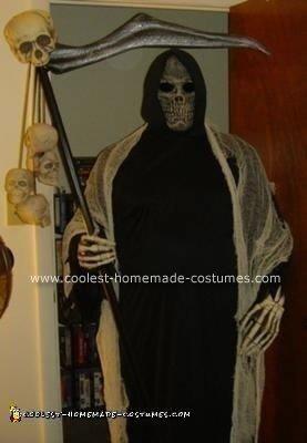 2008 Grim Reaper Halloween Costume