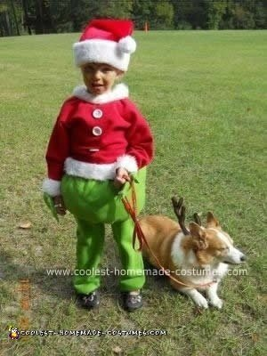 Homemade Grinch Costume