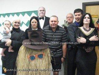 Handmade Addams Family Group Costumes