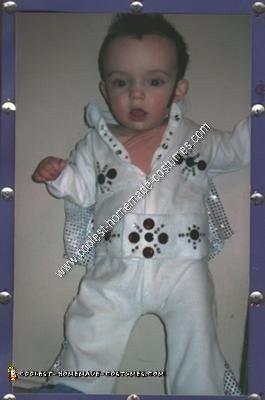 Handmade Baby Elvis Costume