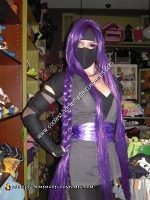 Handmade Kunoichi (Female Ninja) Costume
