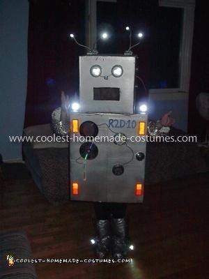 Handmade Robot Costume