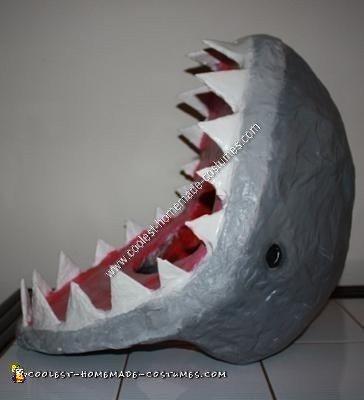 Handmade Shark Eating Child Halloween Costume