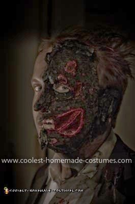 Homemade Harvey Dent Two Face Costume