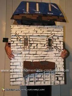 Haunted FEMA House Costume
