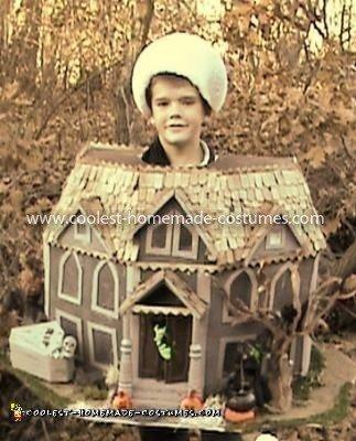 Homemade Haunted House Costume
