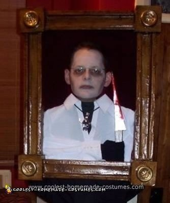 Homemade Haunted Portrait Costume