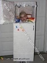 Head in Fridge Halloween Costume