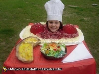 Homemade Head on Platter Homemade Costume