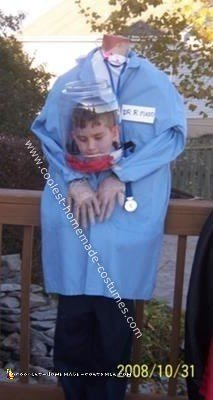 Homemade Headless Mad Scientist Costume