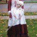Homemade Headless Marie Antoinette Unique Halloween Costume Idea