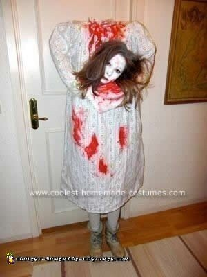 Homemade Headless Woman Costume