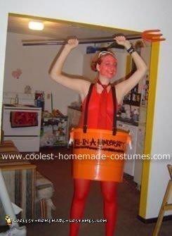 Hell in Handbasket Costume