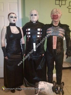 Homemade Hellraiser Group Halloween Costume Idea