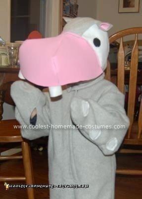 Homemade Hippo Costume