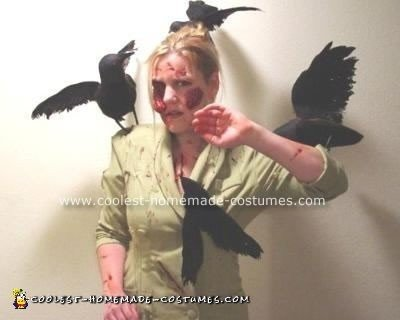 """Tippy from """"The Birds"""" costume"""
