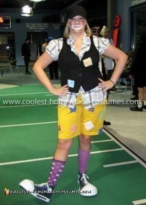 Homemade Hobo Clown Costume