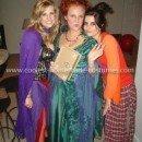 Homemade Hocus Pocus Sanderson Sisters Group Costume