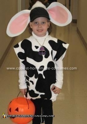 Holstein Cow Costume