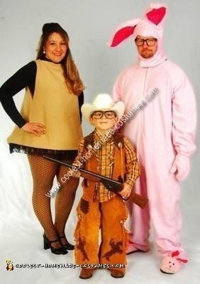 Home Made Christmas Story Group Costumes