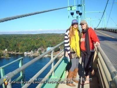 Us on the 1000 Islands Bridge