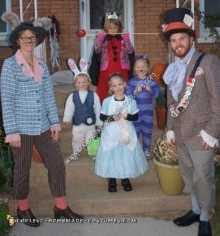Homemade Alice in Wonderland Costume Ideas