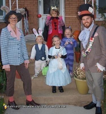 Homemade Alice in Wonderland Costume Ideas