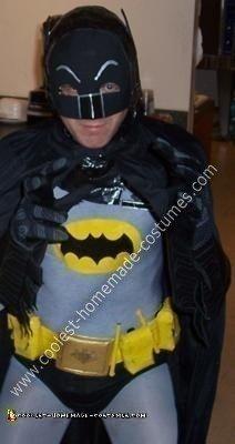 Homemade 1966 Batman Costume
