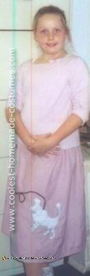 50s Poodle Skirt  Sock Hop Girl Costume