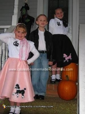 Homemade 50's Sock Hop Costumes