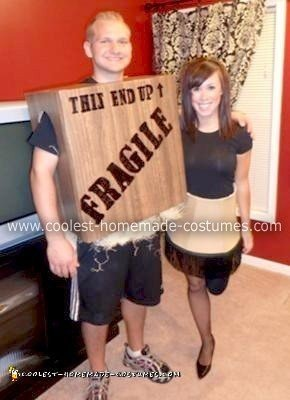 Homemade A Christmas Story Couple Costume