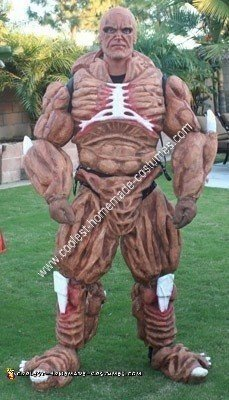 Homemade Abomination from the Hulk Halloween Costume Idea