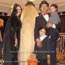 Homemade Addams Family Group Costume