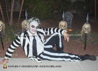 Coolest Homemade Beetlejuice Costume
