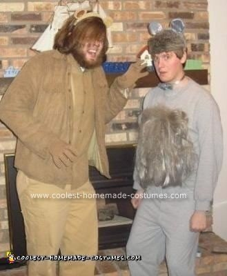 Homemade Adult Male Lion Costume
