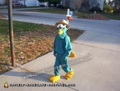 Homemade Agent P Halloween Costume