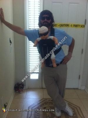 Homemade Alan and Carlos from the Hangover Unique Halloween Costume Idea