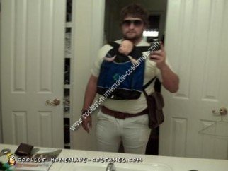 Homemade Alan Garner Costume from The Hangover