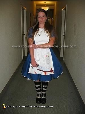 Homemade Alice from EA Games Costume