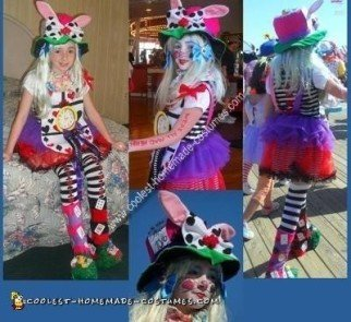 Homemade Alice in Wonderland Costume