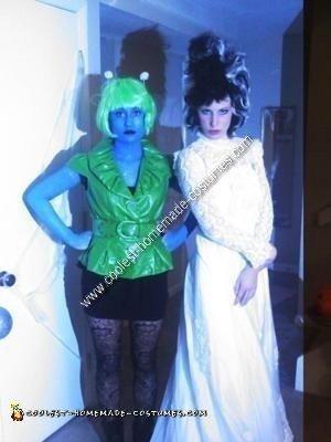 Homemade Alien Halloween Costume Idea