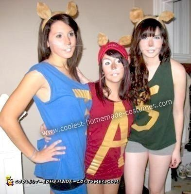 10 Cool Homemade Alvin And The Chipmunks Costumes