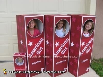 Homemade American Girl Dolls Halloween Costumes