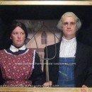 Homemade American Gothic Painting Costume