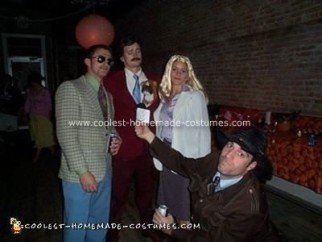 Homemade Anchorman Costume
