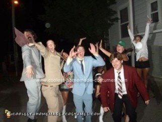 Homemade Anchorman Group Costume