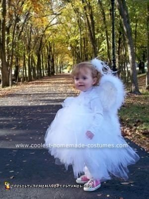 Homemade Angel Costume