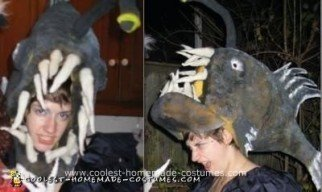 Homemade Angler Fish Halloween Costume
