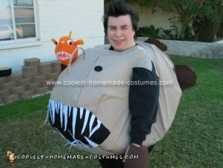 Homemade Anglerfish Costume